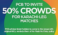 PCB invites 50% crowd for HBL Pakistan Super League 2021 preliminary round matches