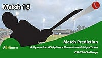 CSA T20 Challenge 2021- Hollywoodbets Dolphins vs Momentum Multiply Titans- Match 15
