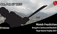 Bengal vs Jammu and Kashmir, Round 4, Elite Group E