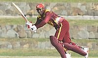 Devon Thomas made 117 for Leewards