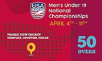 USA Cricket announce first ever USA Cricket Men's Under 19 National Championships
