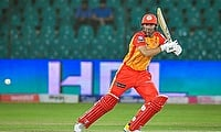 Iftikhar Ahmed scored 49* against Karachi Kings