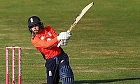 England's Danni Wyatt top scored today with 33 for England Women