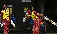 Pollard smashes six sixes in an over