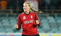 Sophie Ecclestone 2-19 for England Women today