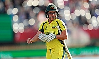 Alyssa Healy on international duty