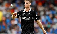 Jimmy Neesham signs for 2021 Vitality Blast campaign