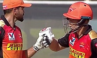 David Warner and Manish Pandey