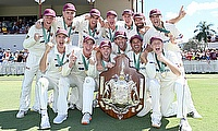 Queensland  wins ninth Marsh Sheffield Shield title