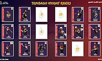 Trinbago Knight Riders announce retentions for 2021