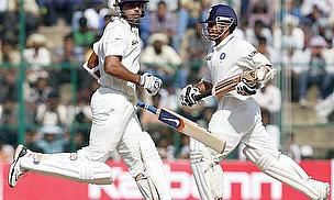 Tendulkar And Vijay Pile On The Runs For India