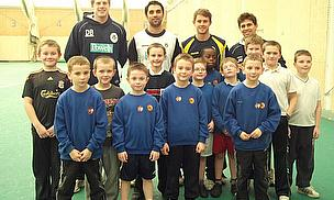 Local Kids Bowled Over By Hampshire Cricketers