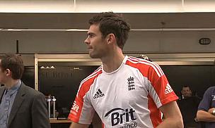 Cricket World TV - James Anderson Interview