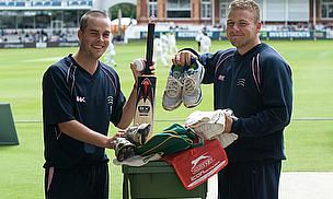 London Youngsters Benefit From LV=SOS Kit Day At Lord's