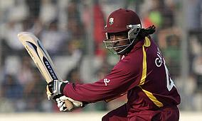 Gayle Blows Away Somerset In Bangalore