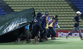Rain In Pallekele Frustrates Sri Lanka And New Zealand