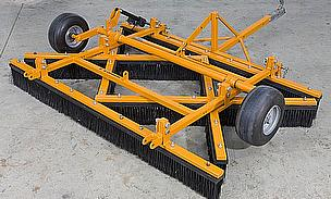 SISIS Tractor Mounted Cricket Square Brushes