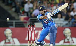 Mahendra Singh Dhoni hits out for India in ODI cricket