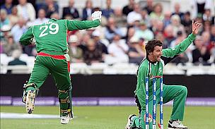 Ireland in action against Bangladesh