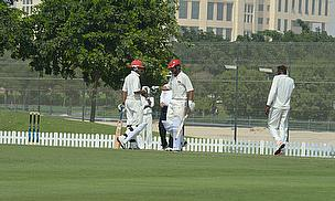 Afghan batsmen punch gloves
