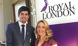 Alastair Cook, Clare Salmon