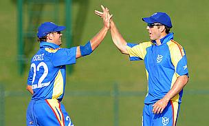 First Win For Namibia On Rain-Hit Day