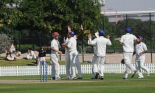 Afghanistan celebrate a wicket