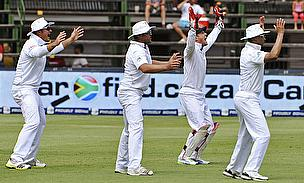 South African players appeal vociferously
