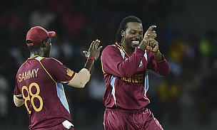 Darren Sammy, Chris Gayle