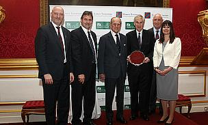 The Duke of Edinburgh with Lord's Taverners & Fields in Trust representatives