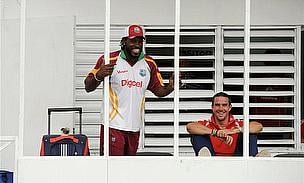 Chris Gayle, Kevin Pietersen