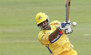 MS Dhoni finished off the win with 12 not out in five balls