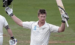 Jimmy Neesham scored his second Test century in as many Tests
