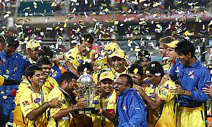 2010 champions the Chennai Super Kings take on the Kolkata Knight Riders in this year's opening game