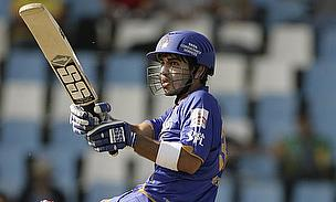 Naman Ojha playing for the Rajasthan Royals