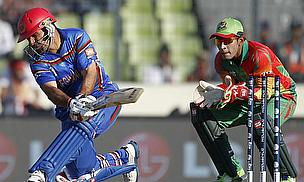 Afghanistan taking on Bangladesh