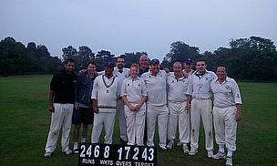 The winning 3rd XI