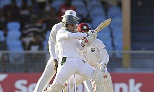 Mushfiqur Rahim struck an unbeaten 70 as Bangladesh batted through day four