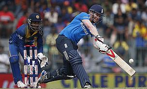 Eoin Morgan's quickfire 62 guided England to 265