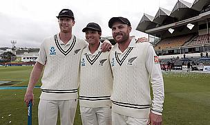 Jimmy Neesham, BJ Watling, Brendon McCullum