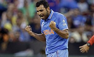 Mohammad Shami has been declared fit for the clash against West Indies on Friday