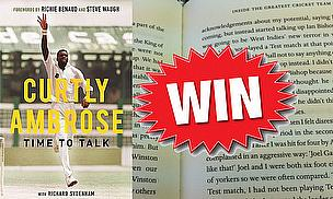 Win A Copy Of 'Time To Talk', Curtly Ambrose's Autobiography