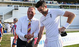 James Anderson Proud Of New Landmark