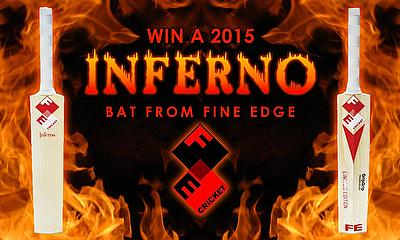 Win a Fine Edge Inferno cricket bat