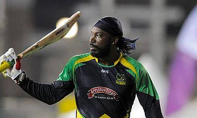 Chris Gayle extended his dominance in the Caribbean Premier League with his explosive 105 as Jamaica Tallawahs flattened Trinidad & Tobago Red Steel b