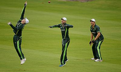 Australia training ahead of the second Ashes Test at Lord's
