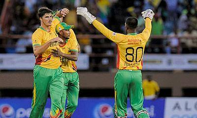 Marchant de Lange believes CPL has helped him improve as a bowler.