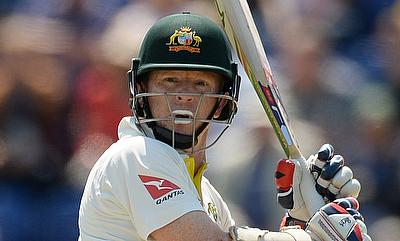 Chris Rogers in action