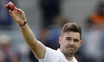 James Anderson registered figures of six for 47 on day one of the third Ashes Test at Edgbaston