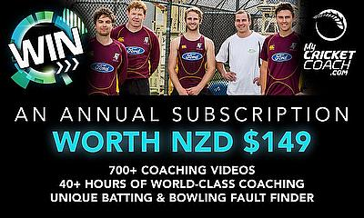Win a year's subscription to MyCricketCoach.com - worth £75